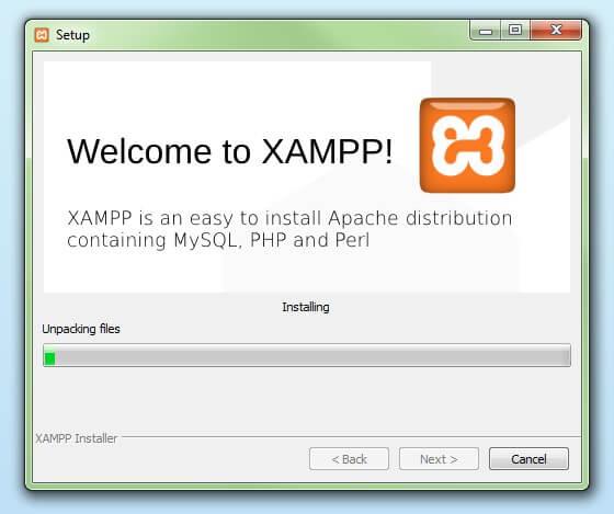 xampp setup 4